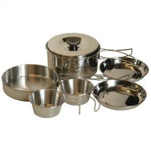 Фото Наборы посуды Набор посуды из нерж. cтали TRC-001