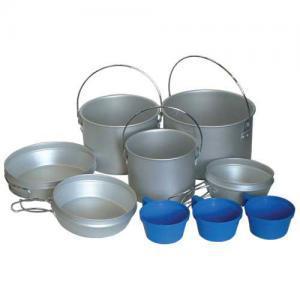 Фото Наборы посуды Набор посуды из аллюминия TRC-002