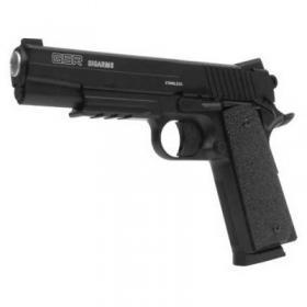 Фото Пневматические пистолеты Пневматический пистолет KM-42 (Colt 1911) Full Plastic