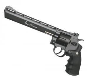 Фото Пневматические пистолеты Револьвер пневматический (Dan Wesson 8 Grey).Корпус - металл