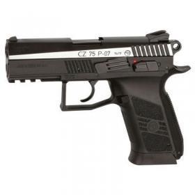 Фото Пневматические пистолеты Пневматический пистолет CZ 75 P-07 Blowback вставка никель