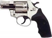 Фото Пневматические пистолеты под патрон флобера Револьвер Флобера Alfa 420 2 никель пластик