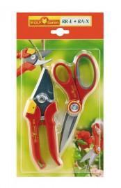Фото Ручной садовый инструмент Набор секатор + ножницы RR-E + RA-X