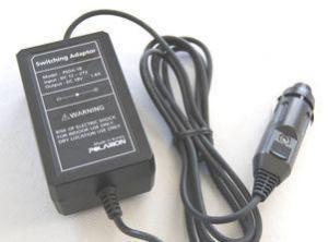Фото Аксессуары для фонарей Автомобильное зарядное устройство от прикуривателя Polarion