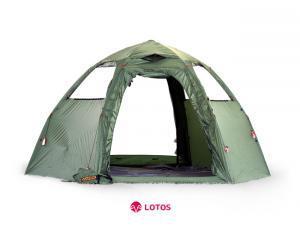 Фото Тент Летняя полуавтомотическая палатка для кемпинга и туризма «Мансарда»