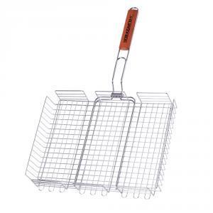Фото Решетки для гриля Двойная большая решетка-корзина BQ-61