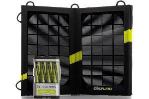Фото солнечная батарея Зарядка на солнечных батареях Guide 10 Plus Solar Kit