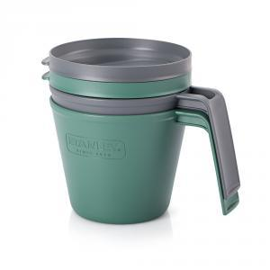 Фото Кружки Набор кружек с крышками Stanley Adventure Infinite Mug/Bowl 0,47L - Green