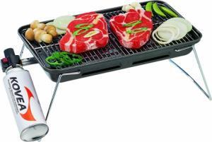 Фото Газовый гриль Газовый гриль Kovea Slim gas barbecue grill TKG-9608-T