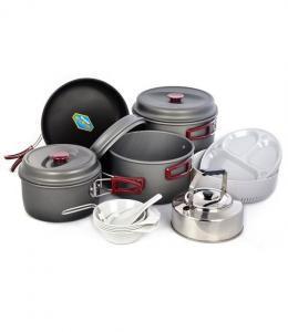Фото Наборы посуды Набор туристической посуды Kovea Hard 78 KSK-WH78