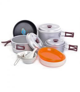 Фото Набори посуду Набор туристической посуды Kovea Silver 78 KSK-WY78