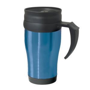 Фото Термокружки Термокружка Oggi Lustre 400 ml. Stainless Steel Travel Mug with Plastic Blue