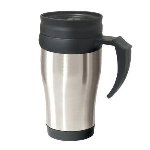Фото Термокружки Термокружка Oggi Lustre 400 ml. Stainless Steel Travel Mug with Plastic Silver