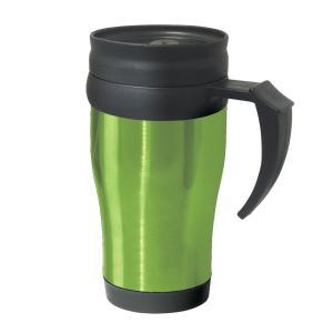 Фото Термокружки Термокружка Oggi Lustre 400 ml. Stainless Steel Travel Mug with Plastic Green