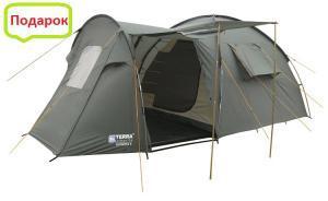 Фото Палатка 4-х местная  Четырехместная палатка Olympia 4