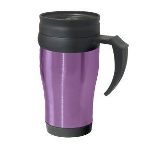 Фото Термокружки Термокружка Oggi Lustre 400 ml. Stainless Steel Travel Mug with Plastic Purple