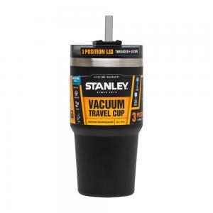 Фото Термокружки Термочашка с соломинкой Quencher (0.6 Л черная)