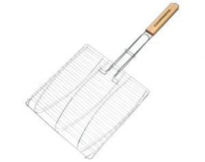 Фото Решетки для гриля Двойная решетка для рыбы Fish Basket 28х28 см