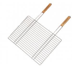 Фото Решетки для гриля Решетка одинарная с двумя ручками 67x40 см
