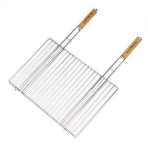 Фото Решетки для гриля Решетка двойная с двумя ручками 48x27,5 см
