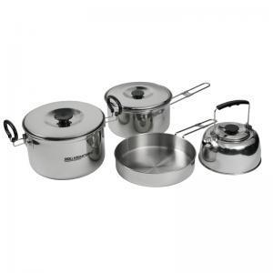 Фото Наборы посуды Походный набор стал. посуды 10027-00