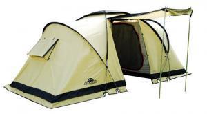 Фото Палатка 4-х местная  Четырехместная палатка INDIANA 4