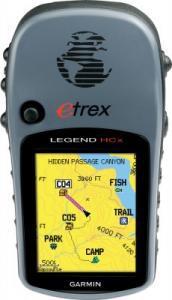 Фото Туристические GPS навигаторы Навигатор eTrex Legend HCx