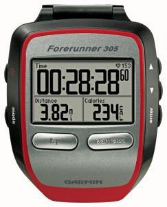 Фото Спортивные GPS навигаторы Навигатор Forerunner 305
